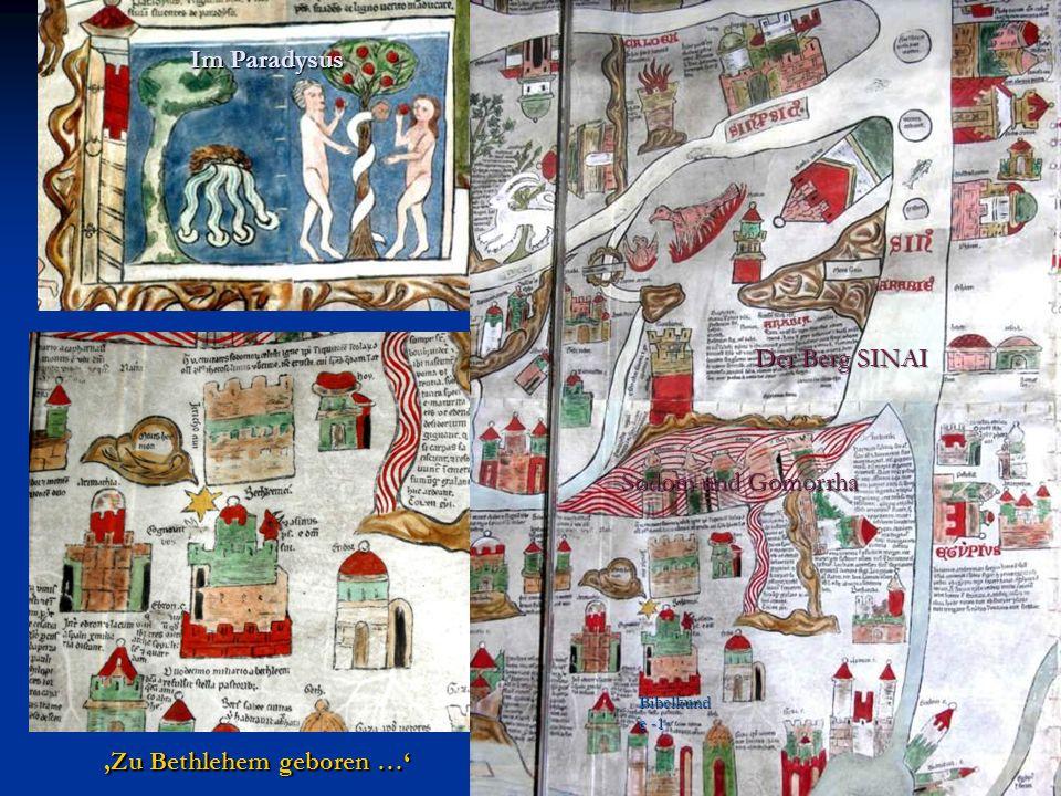 Der Berg SINAI Im Paradysus Zu Bethlehem geboren … Bibelkund e -1- Sodom und Gomorrha