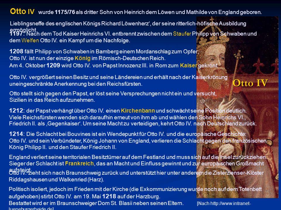 1214: Die Schlacht bei Bouvines ist ein Wendepunkt für Otto IV. und die europäische Geschichte: Otto IV. und sein Verbündeter, König Johann von Englan