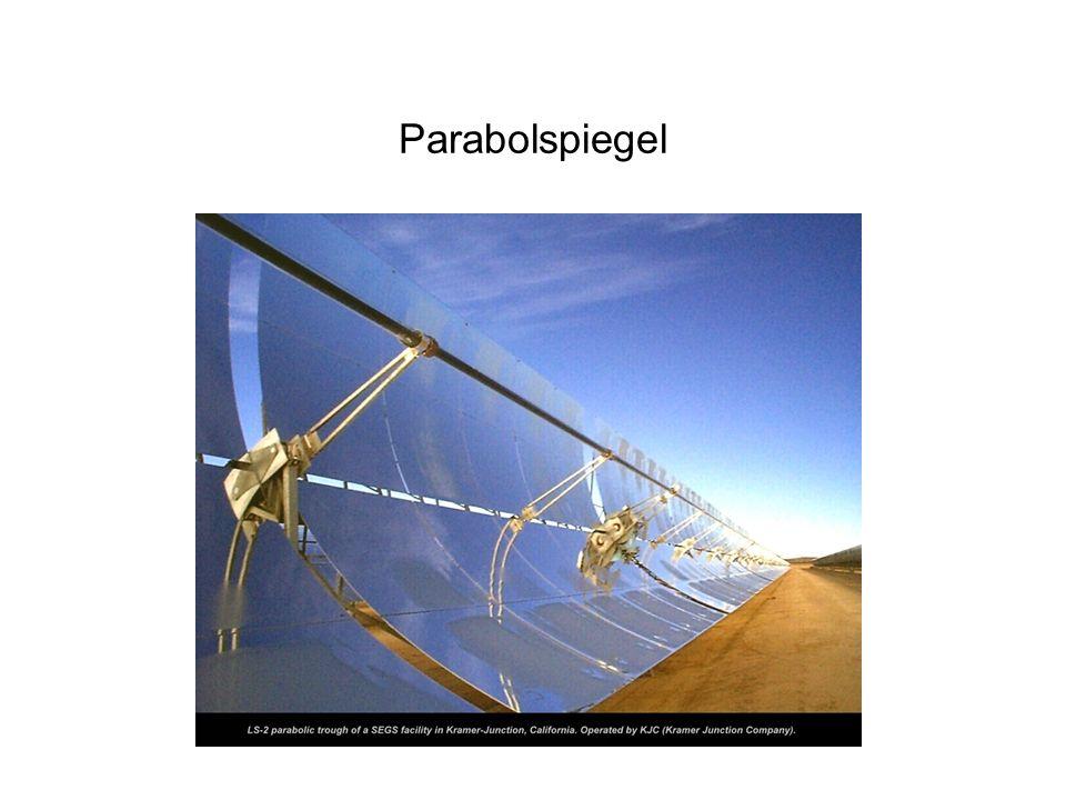 Solarthermisches Parabolrinnen-Kraftwerk ca. 30 MW el