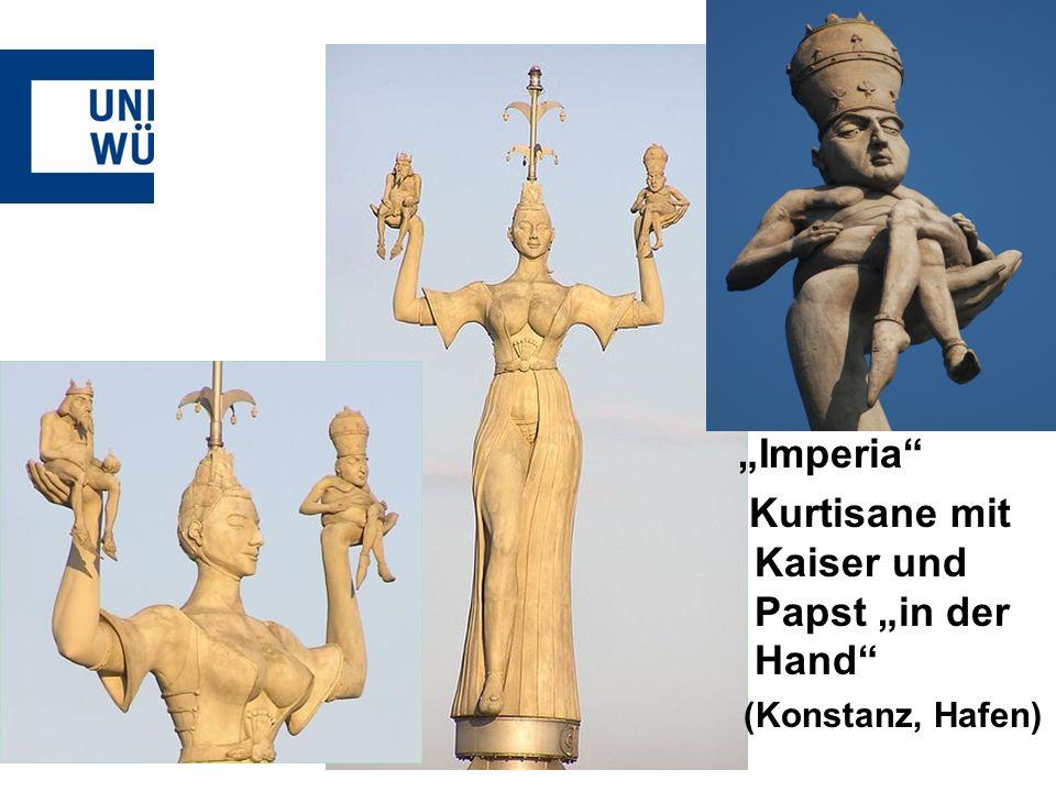 Imperia Kurtisane mit Kaiser und Papst in der Hand (Konstanz, Hafen)
