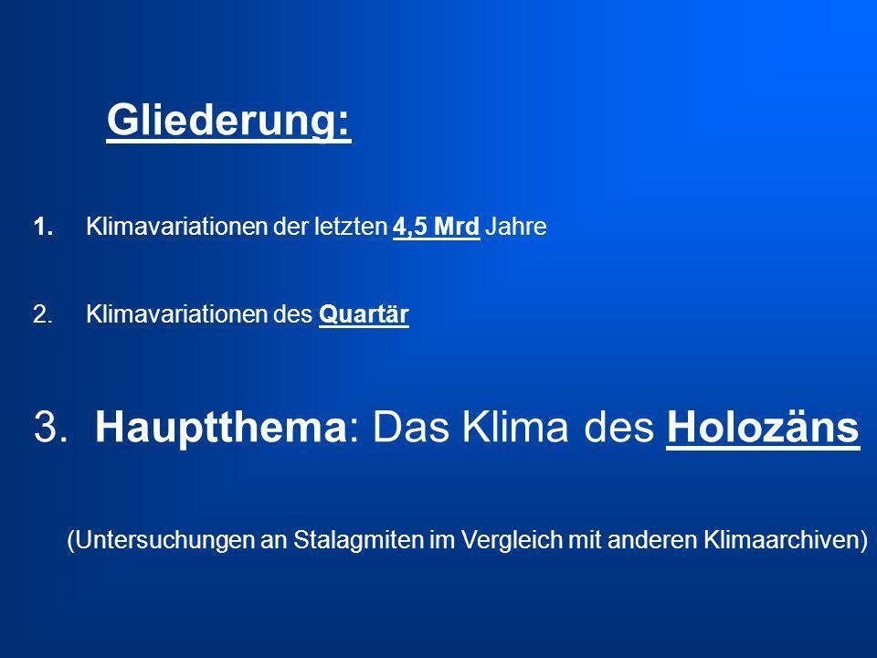 3.Das Klima des Holozäns Moberg et al.