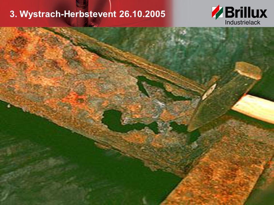3. Wystrach-Herbstevent 26.10.2005