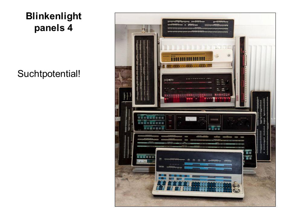 7 / 18 Blinkenlight panels 5 Blinkenlights blinken nicht mehr verschiedene Projekte zur Wiederbelebung Simulation + I/O Elektronik BlinkenBone 2012