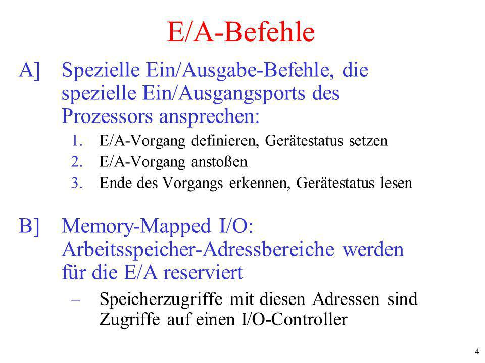15 Direct Memory Access (DMA) Operation of a DMA transfer