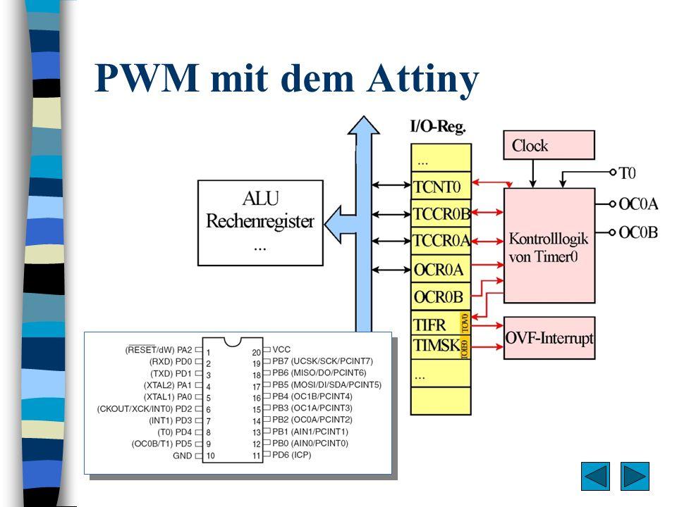 PWM mit dem Attiny