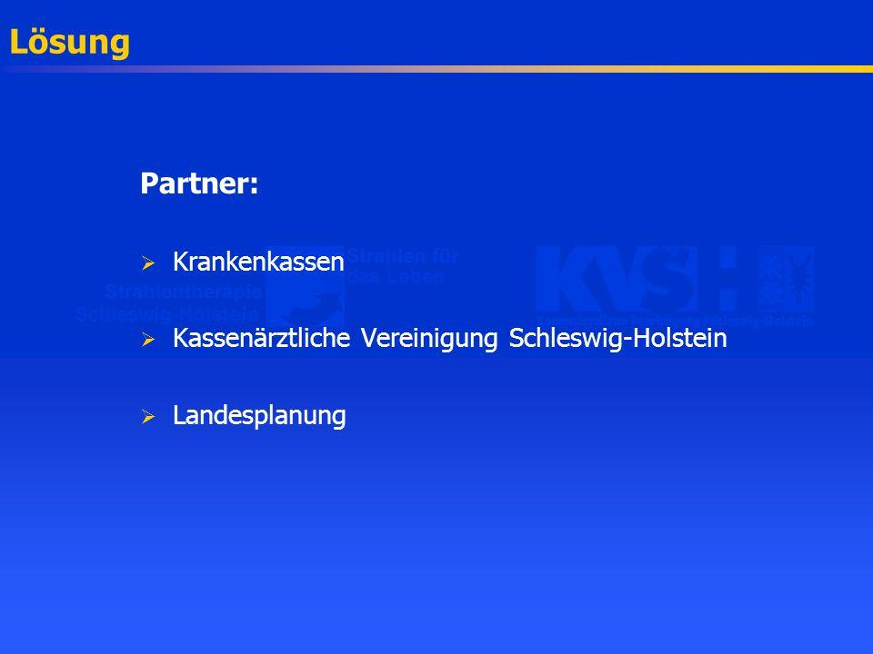 Zukunftsorientierte Versorgung Investitionsplanung Eine gemeinsame Veranstaltung von Strahlentherapie Schleswig-Holstein e.V.