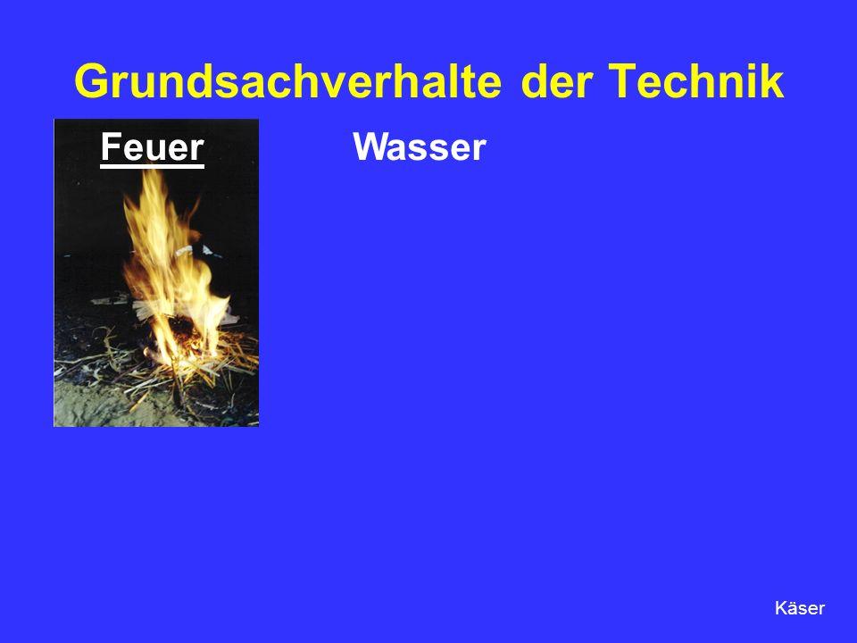 Grundsachverhalte der Technik FeuerWasser Käser