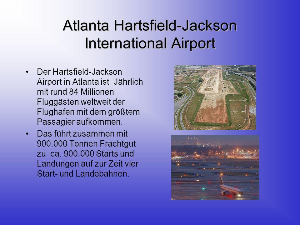 Chicago-OHare International Airport Er ist mit einem jährlichen Passagieraufkommen von rund 70 Millionen nach Atlanta der stärkst frequentierte Flughafen der Welt.