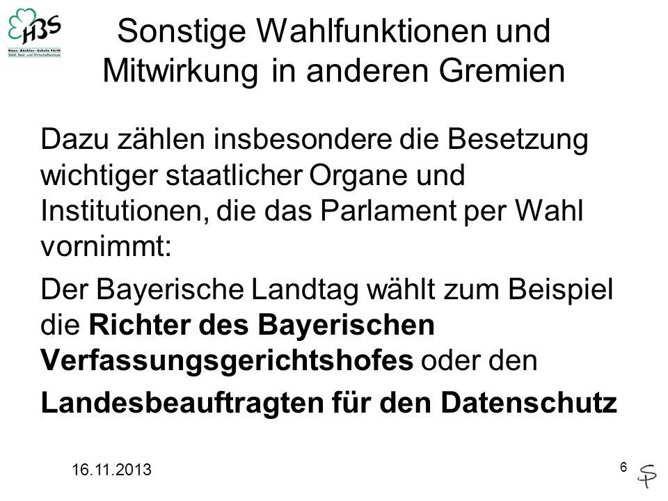 7 4 Aufgaben des Landtags 3.