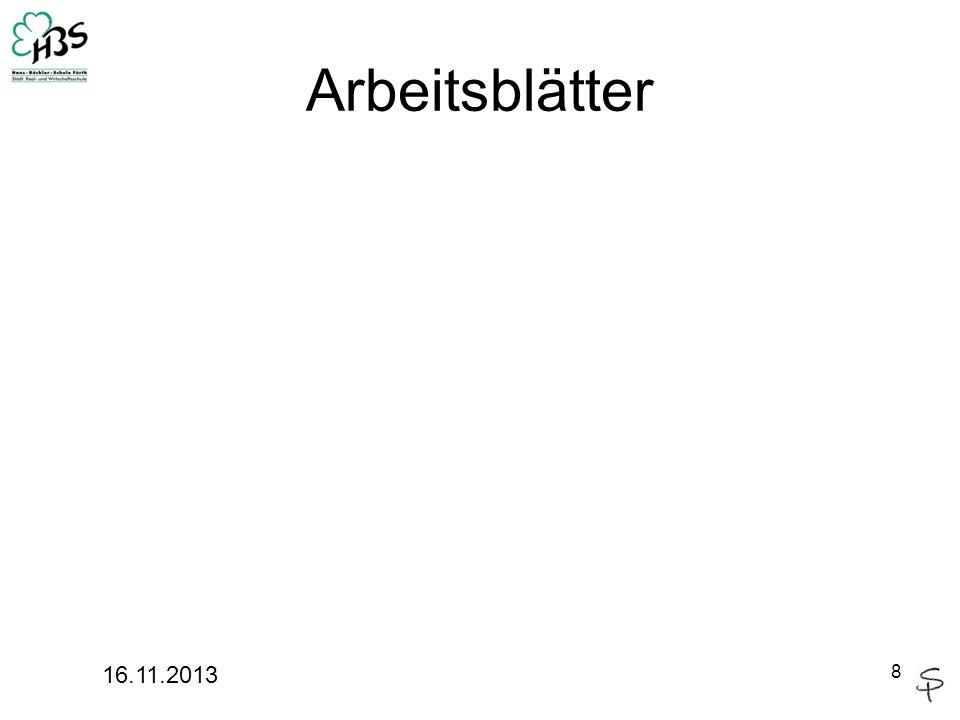 Arbeitsblätter 16.11.2013 8