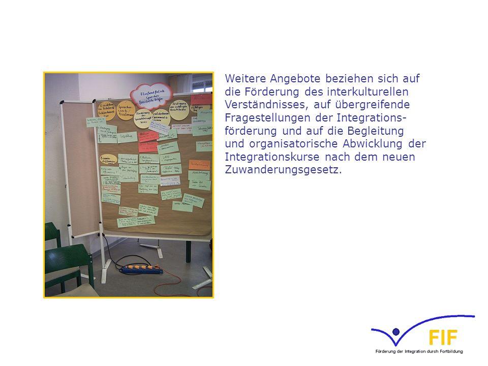Entwickelt wird eine Zusatzqualifizierung von Lehrkräften Deutsch als Zweitsprache – Virtueller Fernlehrgang mit Präsenzphasen zur Weiterbildung von Kursleitenden in den vom Bundesamt für Migration und Flüchtlinge (BAMF) geförderten Integrationskursen.