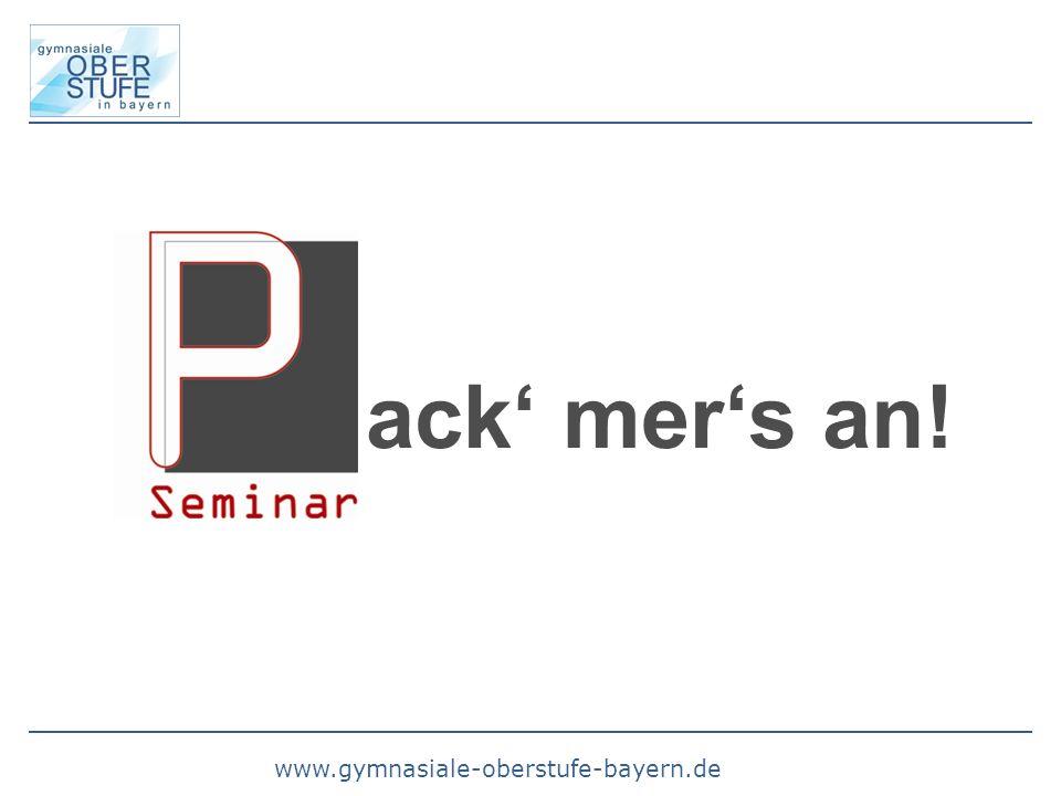 www.gymnasiale-oberstufe-bayern.de ack mers an!