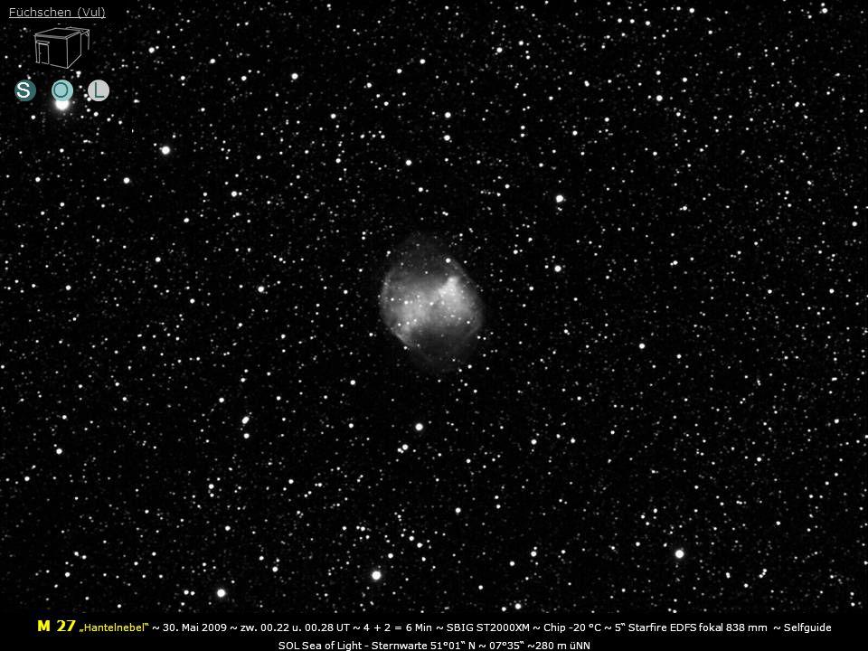 SOL M 27 Hantelnebel ~ 30.Mai 2009 ~ zw. 00.22 u.