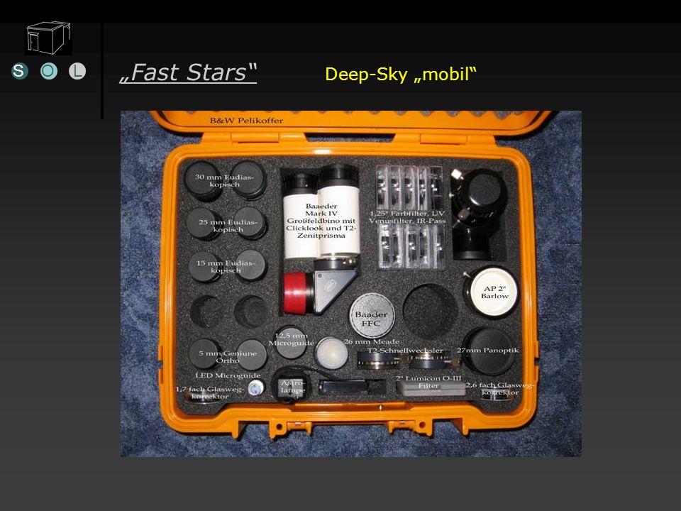 Öffnung + 4mm / Jahr Fast Stars Deep-Sky mobil SOL Ausrüstung