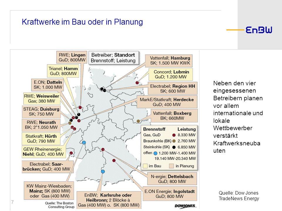 8 Chronologie des Großhandelsmarktes April 1998 Oktober 2005 Juni 2000 August 2000März 2001 Dezember 2001 Juni 2002 März 2005 Liberalisierung deutscher Energiemarkt Gründung LPX (Spot) Gründung EEX (Spot) Beginn Terminmarkt (EEX) Zusammenbruch Enron Fusion LPX& EEX zur EEX, Leipzig Beginn Emissionshandel (EEX-Spot) Beginn Emissionshandel (EEX-Termin)