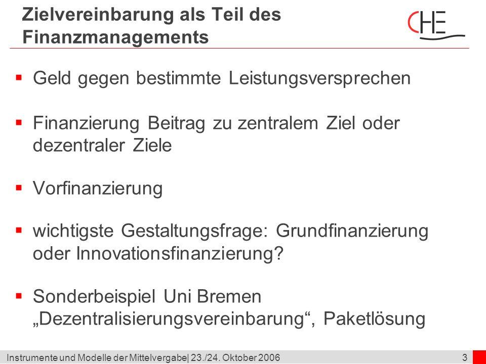 4Instrumente und Modelle der Mittelvergabe  23./24.