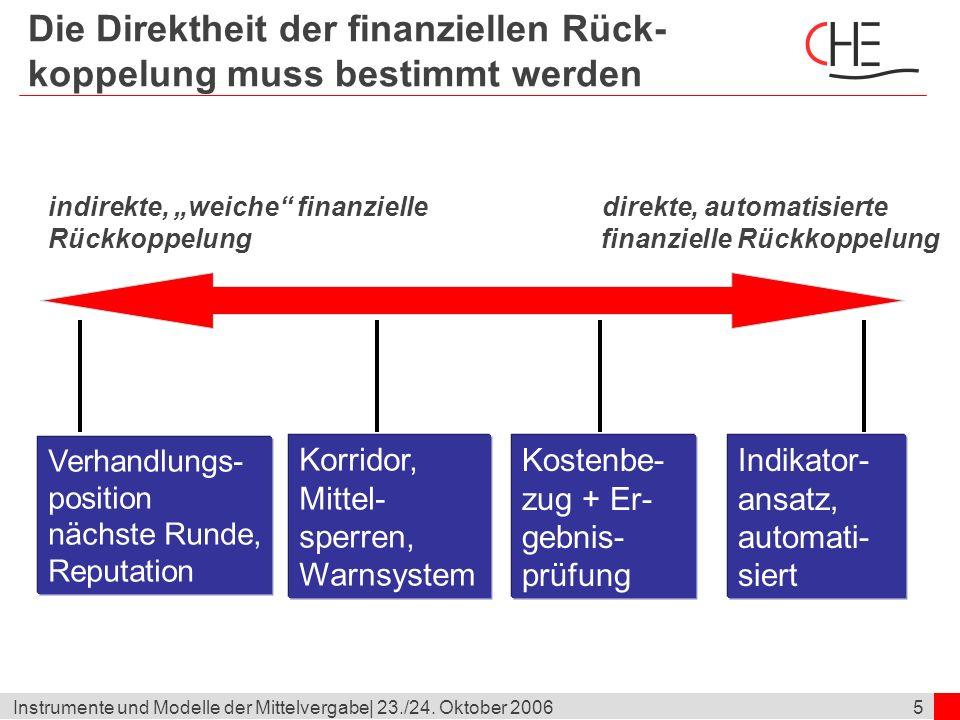 6Instrumente und Modelle der Mittelvergabe  23./24.