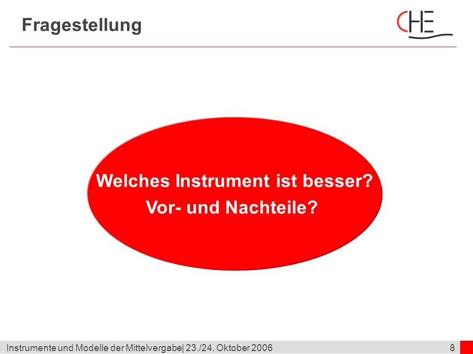 19Instrumente und Modelle der Mittelvergabe  23./24.