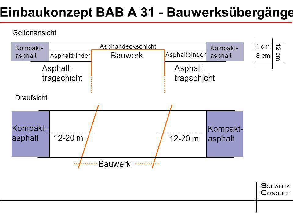 S chäfer C onsult Abstumpfungsmaßnahmen BAB A 31