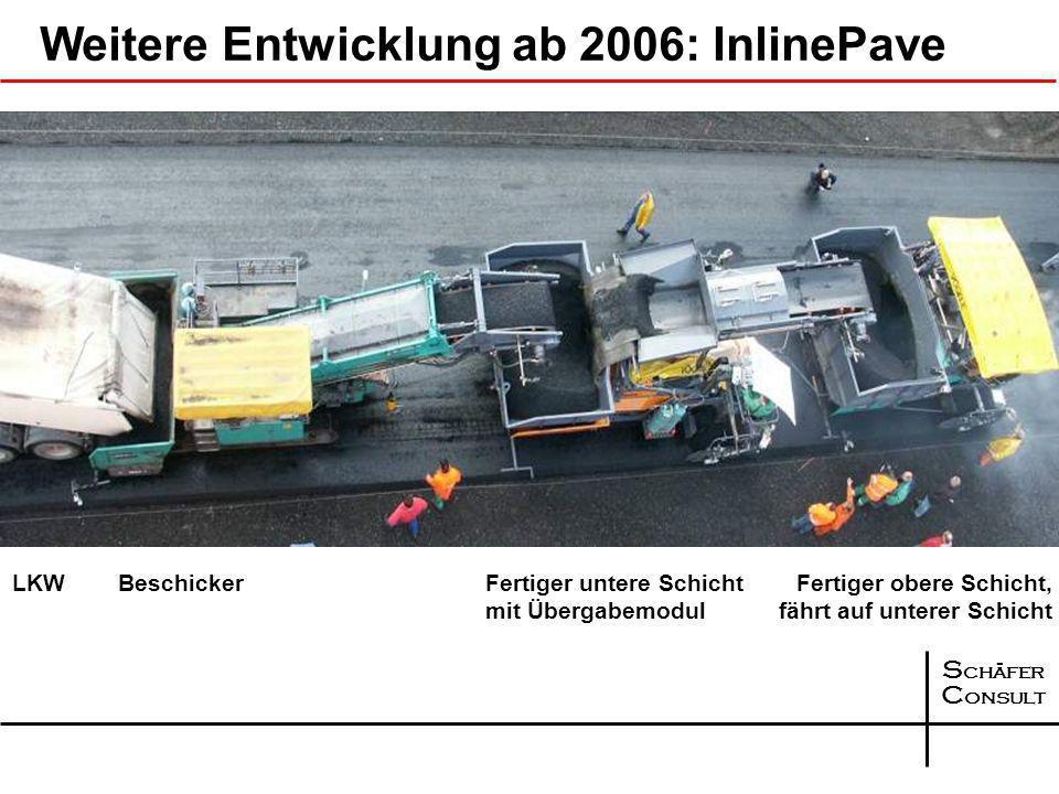 S chäfer C onsult Weitere Entwicklung ab 2006: InlinePave
