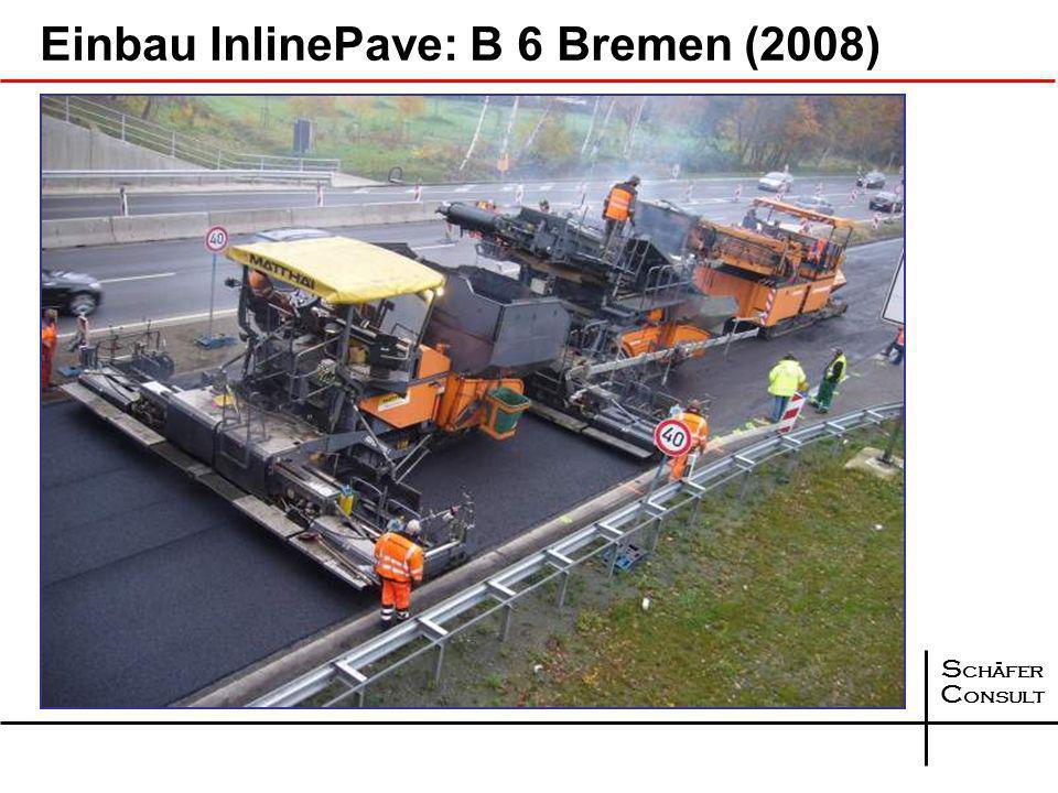 S chäfer C onsult Weitere Entwicklung: InlinePave - Variante Asymmetrischer Einbau