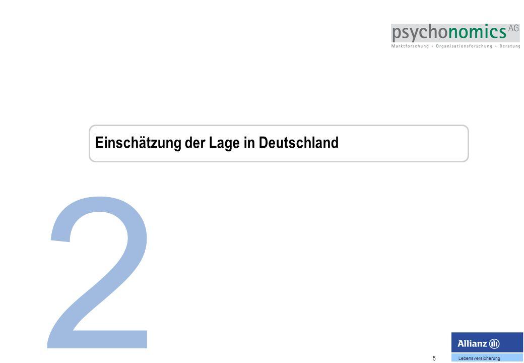 5 Lebensversicherung 2 Einschätzung der Lage in Deutschland