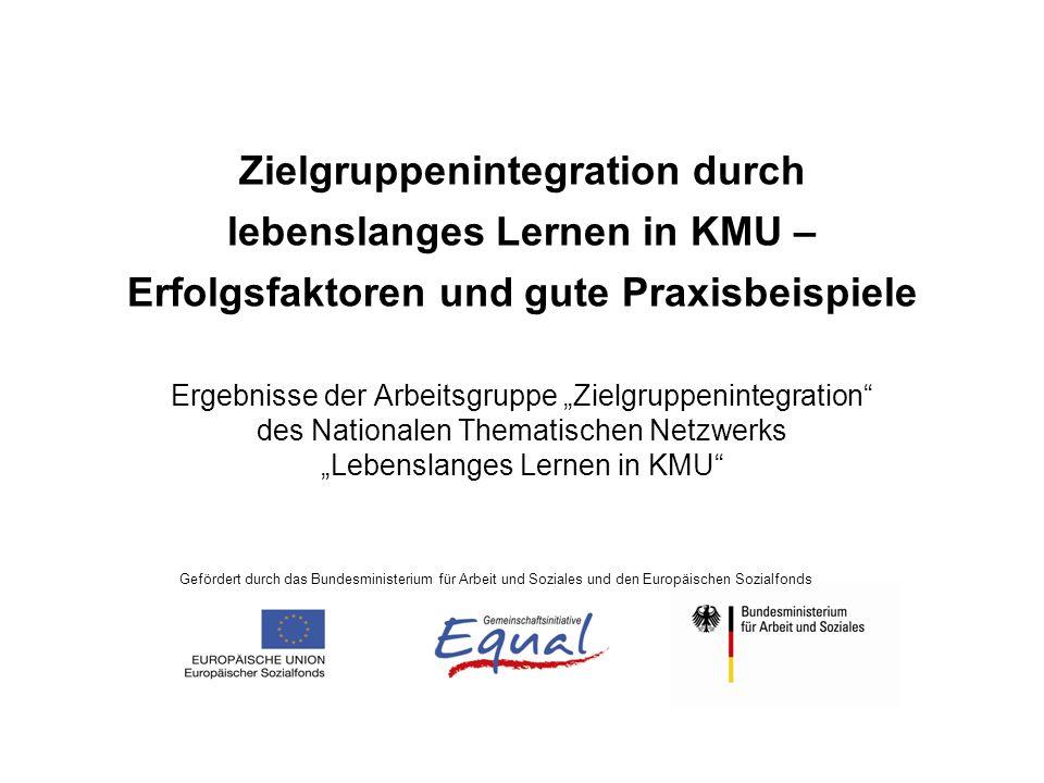Lebenslanges Lernen - Schlüsselfaktoren I.Sensibilisierung / Initiierung / Unterstützung II.Personalplanung und –entwicklung III.Kompetenzfeststellung (Profiling) IV.Qualifizierung / Kompetenzerweiterung V.Integration / Matching