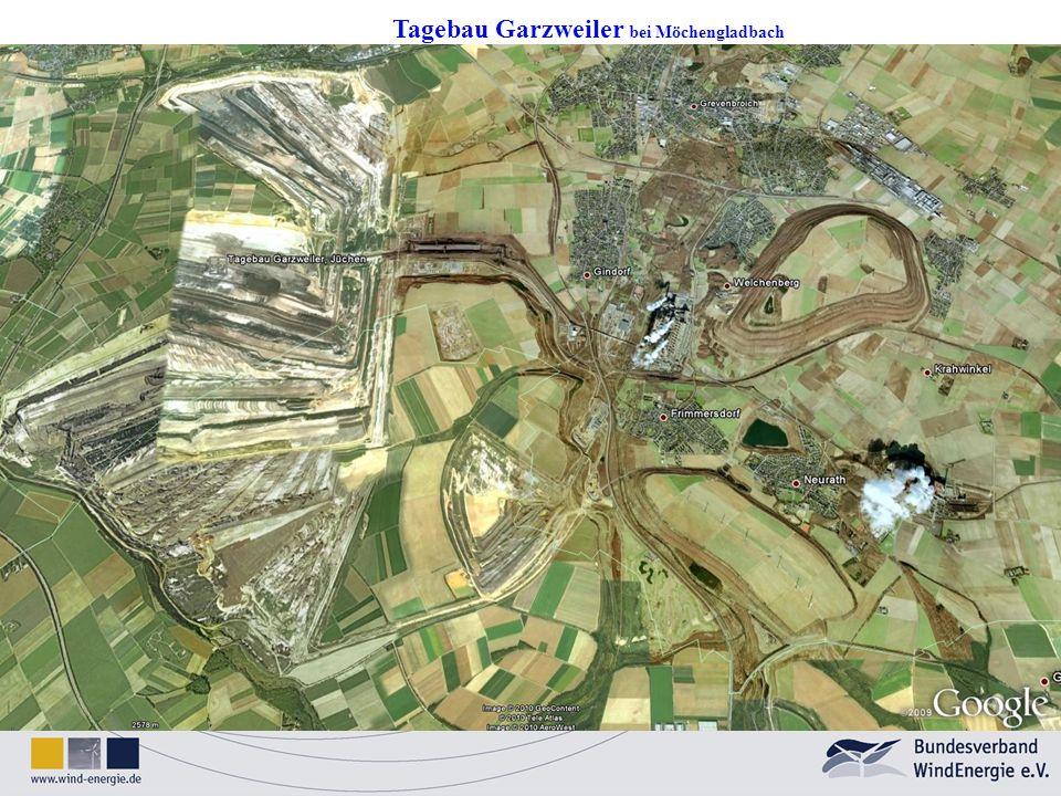 Tagebau Garzweiler bei Möchengladbach