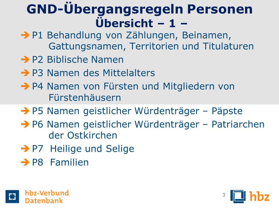 14 P4 Regierende Fürsten Als bevorzugter Name für regierende Fürsten und Mitglieder regierender Fürstenhäuser gilt der persönliche Name Es gilt die im Deutschen gebräuchlichste Form.