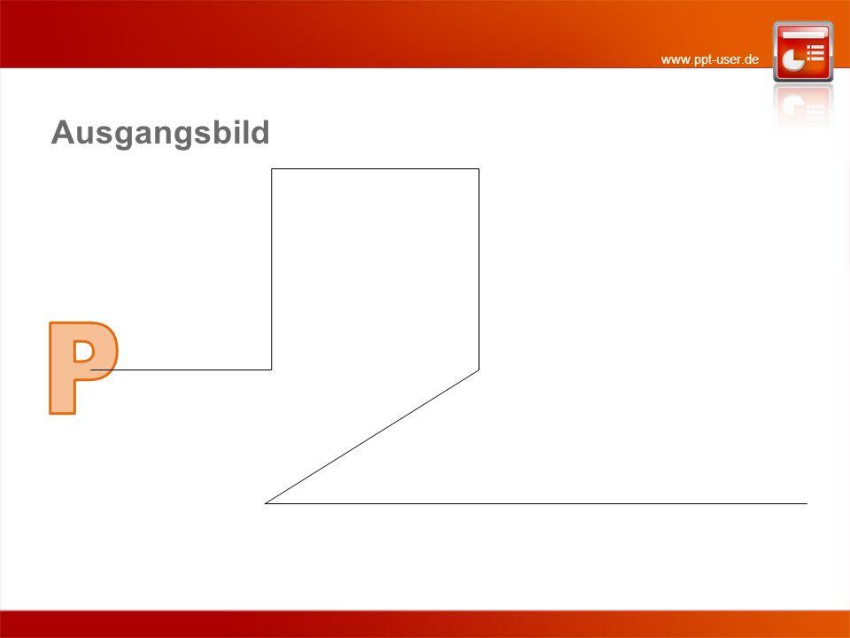 www.ppt-user.de 1 - Richtungswechsel Da es sich bei den Richtungs-wechseln um richtige Ecken handelt, sollten die Drehbe-wegungen entsprechend zackig sein.