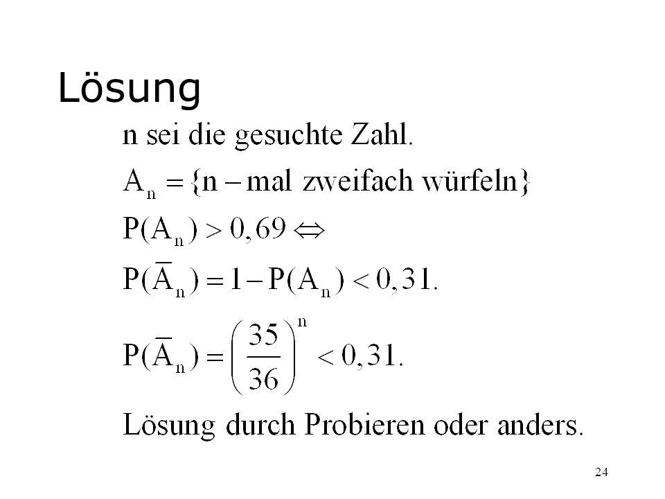 24 Lösung