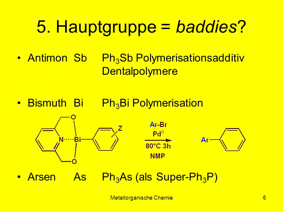 Metallorganische Chemie27 Carbin-Komplexe L n M( 1 -CR)