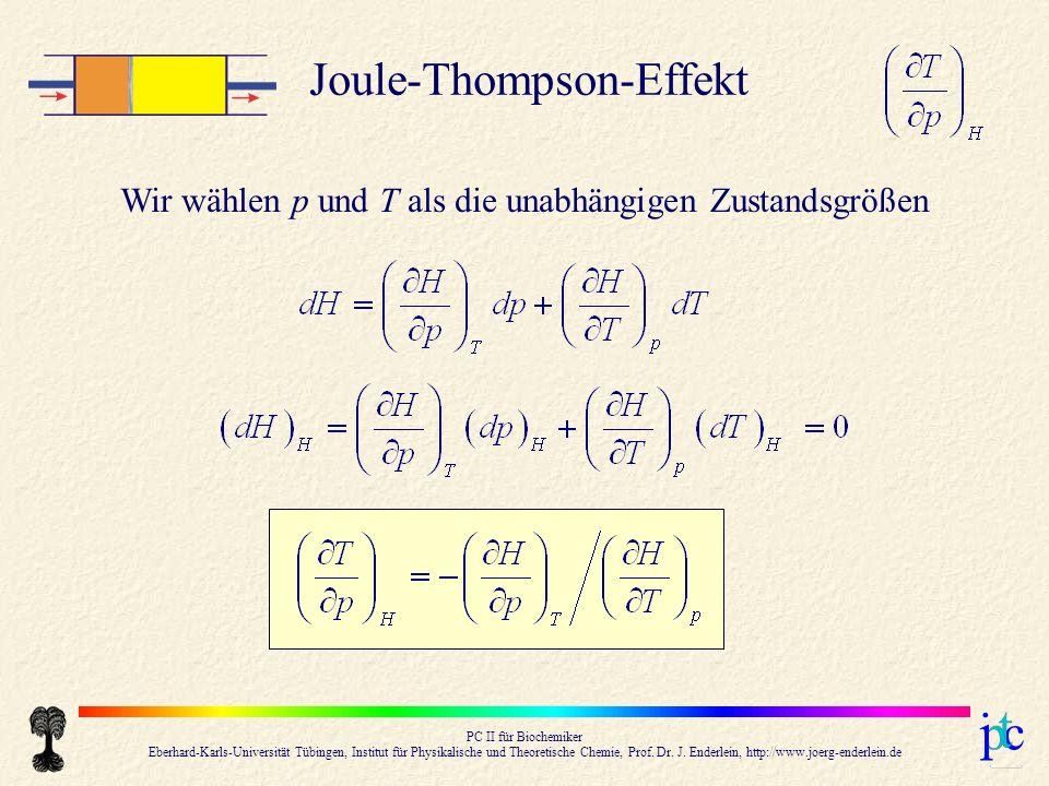 PC II für Biochemiker Eberhard-Karls-Universität Tübingen, Institut für Physikalische und Theoretische Chemie, Prof.