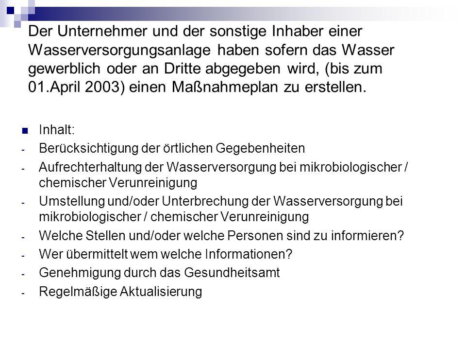 Mustermaßnahmeplan des Kreises Rendsburg- Eckernförde 1.