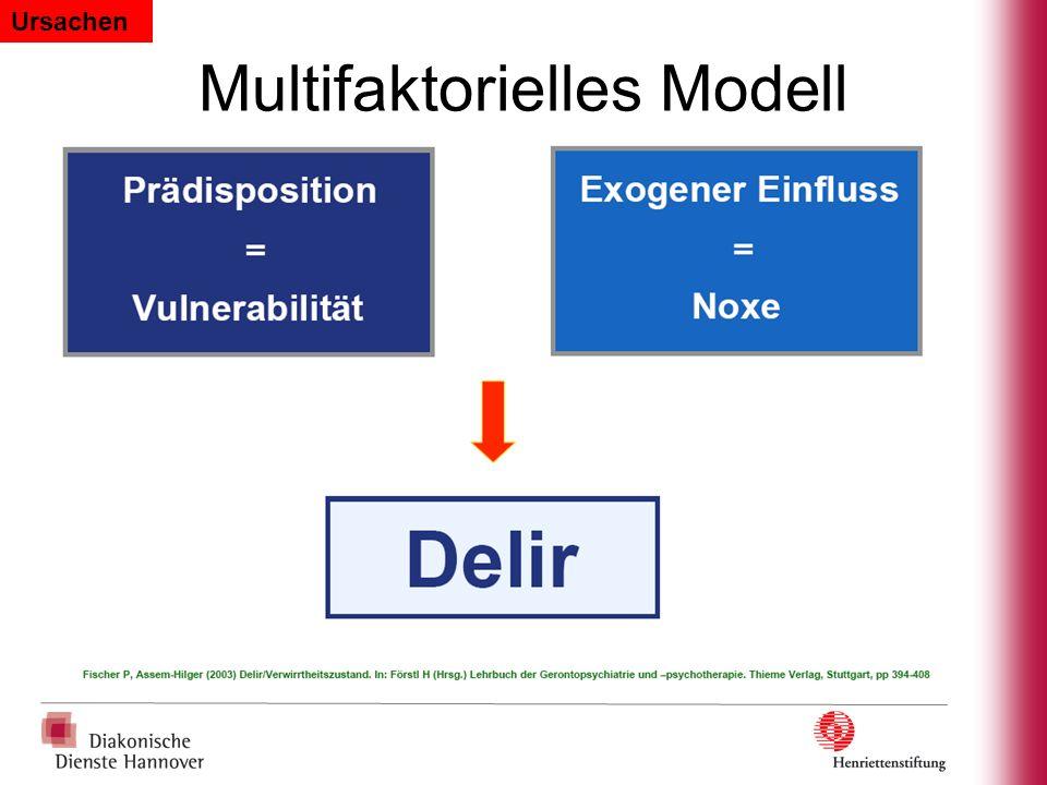 Multifaktorielles Modell Ursachen