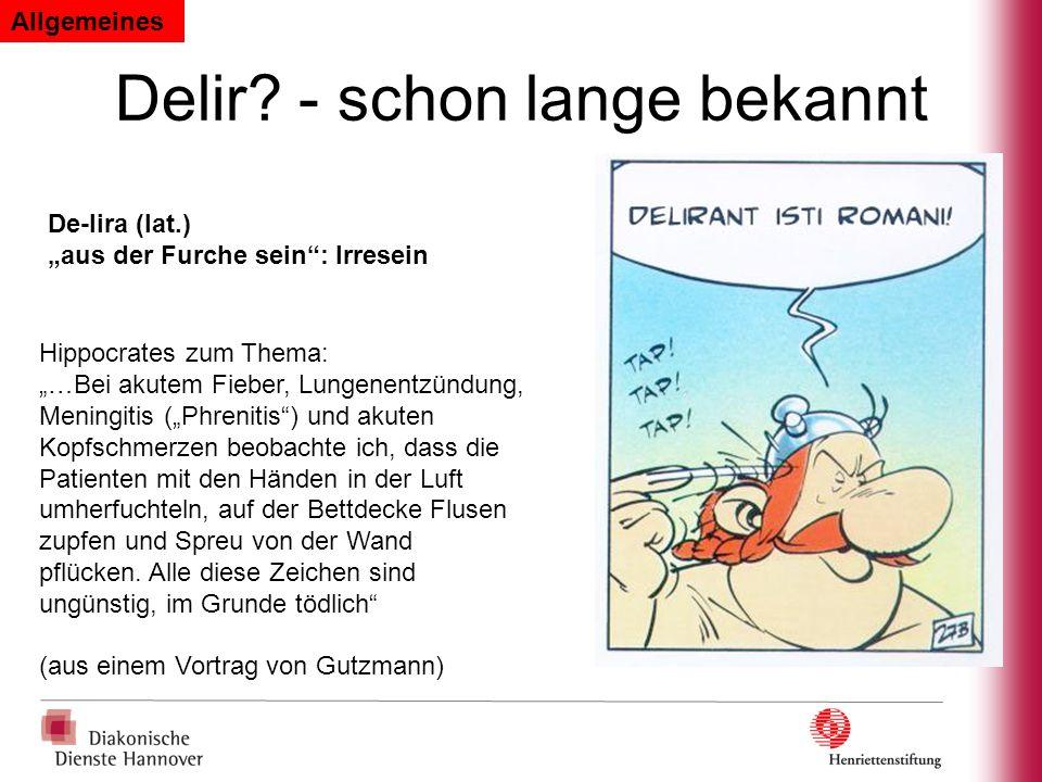 Prävention des Delirs.YALE DELIRIUM PREVENTION PROGRAM (Inouye SK.