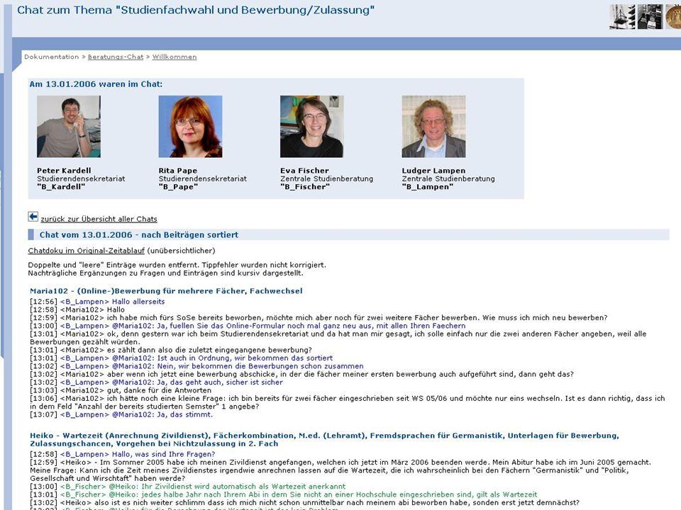 Ruhr-Universität Bochum Virtualisierung der Beratung 20Career Service & Alumni - Dr. Britta Freis