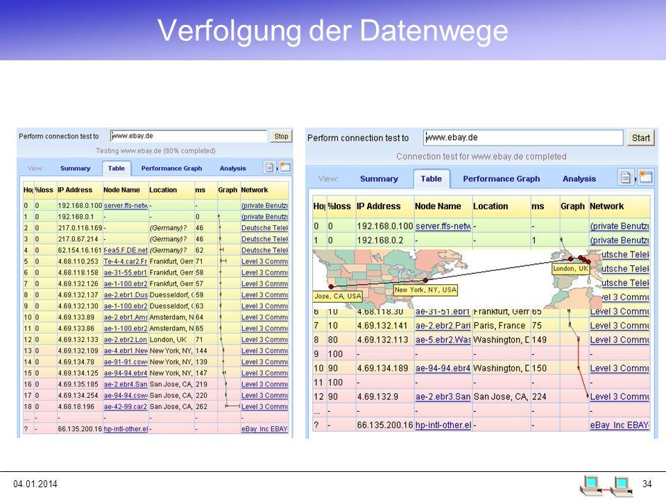 04.01.201434 Verfolgung der Datenwege
