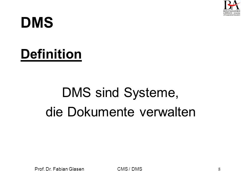 DMS-Typen