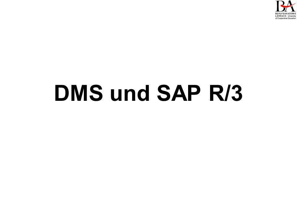 DMS und SAP R/3