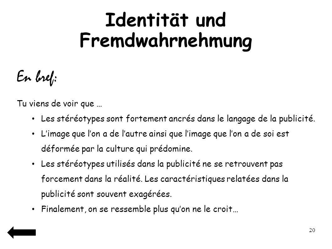 21 Unterschiede und Gemeinsamkeiten: Deutschland– Frankreich Übung 1: Achtung Falsche Freunde!