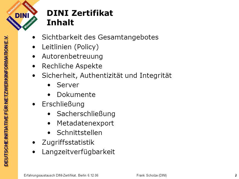 DEUTSCHE INITIATIVE FÜR NETZWERKINFORMATION E.V.