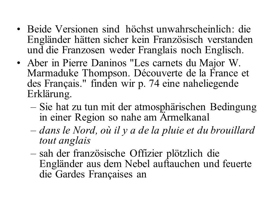–In welcher Sprache.°In Französisch, der Sprache europäischer Diplomatie und Kultur jener Zeit.