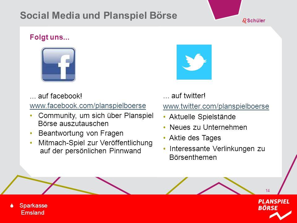 bSchüler S Sparkasse Emsland Folgt uns...... auf facebook! www.facebook.com/planspielboerse Community, um sich über Planspiel Börse auszutauschen Bean