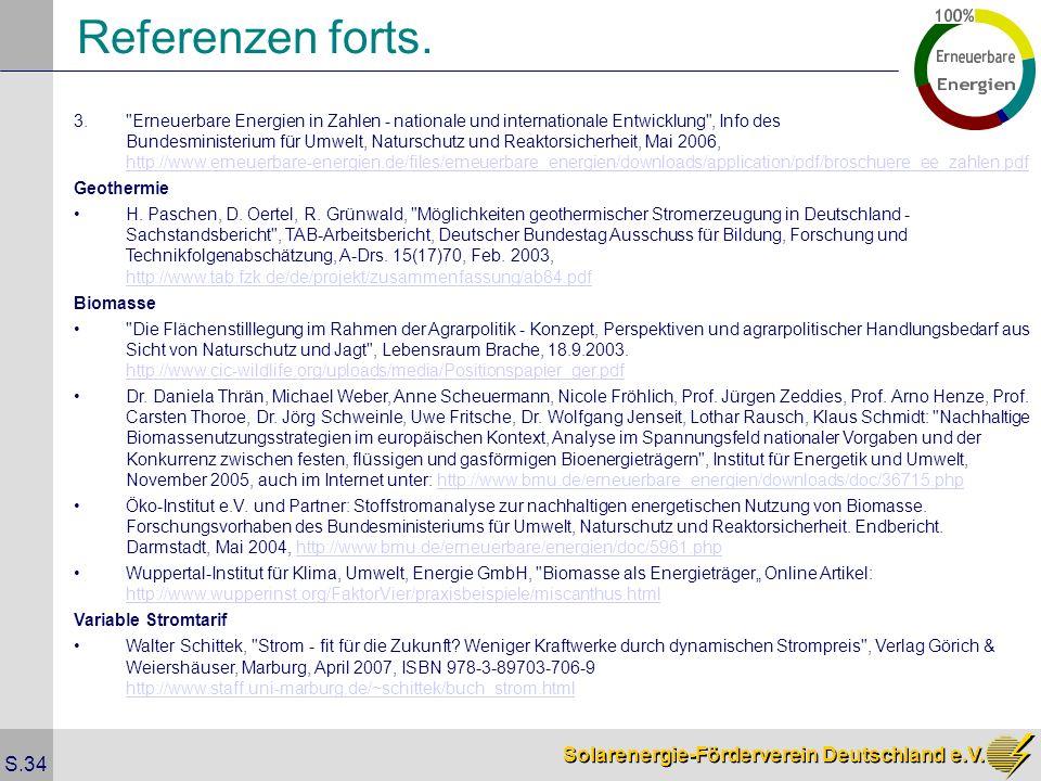 Solarenergie-Förderverein Deutschland e.V. S.34 3.