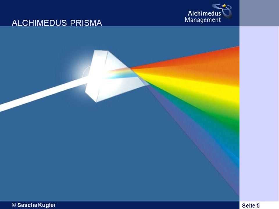© Sascha Kugler Seite 5 ALCHIMEDUS PRISMA