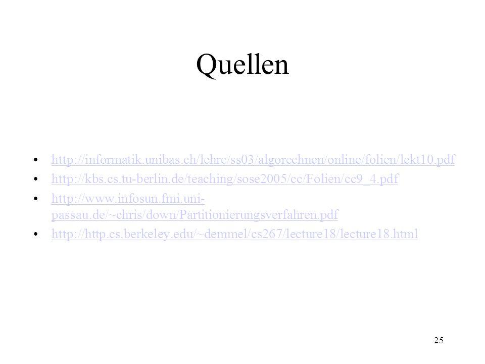 25 Quellen http://informatik.unibas.ch/lehre/ss03/algorechnen/online/folien/lekt10.pdf http://kbs.cs.tu-berlin.de/teaching/sose2005/cc/Folien/cc9_4.pd