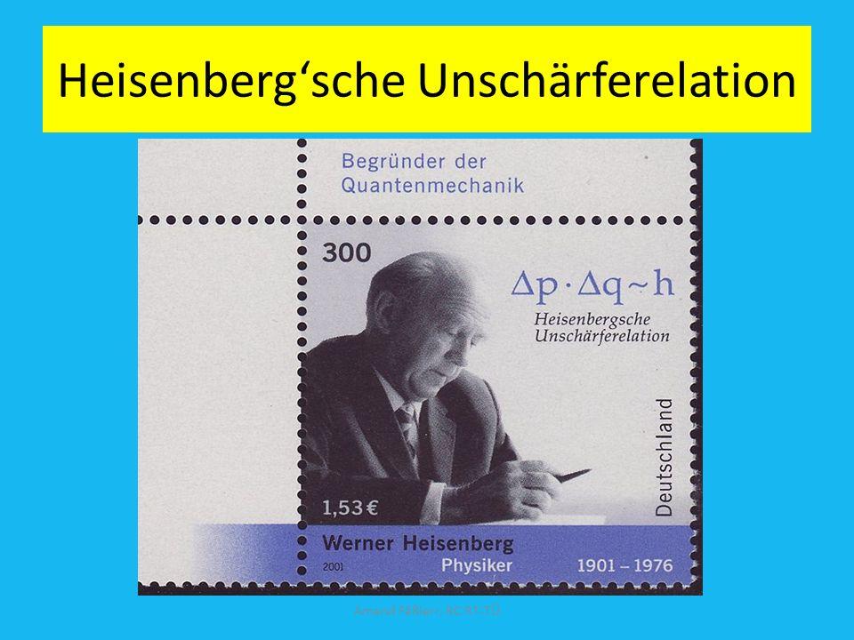 Heisenberg1925: Quantenmechanik ( h = Plancksches Wirkungsquantum) Quantenmechanik kann auf den Kern nicht angewandt werden! Amand Fäßlerr, RC RT-TÜ S