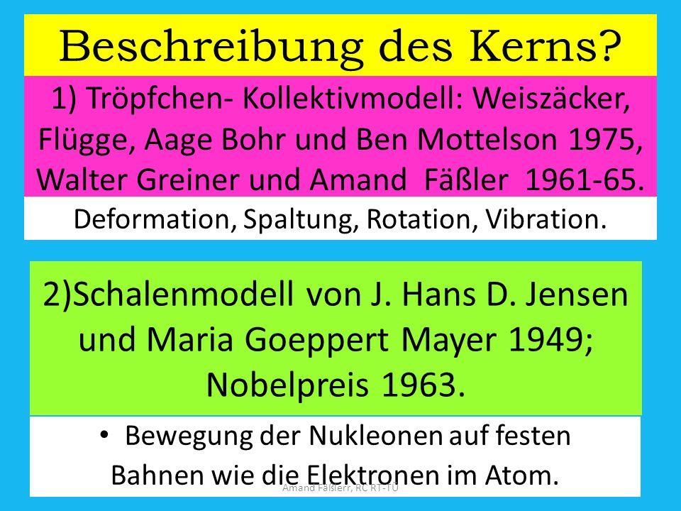 Kernmodell von Niels Bohr Amand Fäßlerr, RC RT-TÜ
