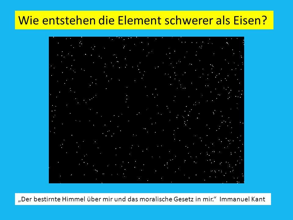 Wie Brennen die Sterne ? Karl Friedrich von Weiszäcker, Hans Bethe,.. 4p 4 He + 2 e + + 2 Neutrinos + 28 MeV Bindungsenergie der Atomkerne pro Nukleon
